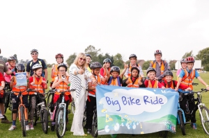 The children of Loughborough turned out in force for the Big Bike Ride.