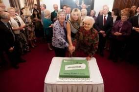 samaritans cake cut