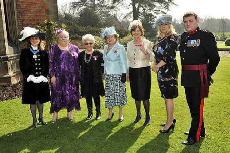 Beaumanor Hall Jubilee group photo