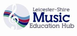Music education hub logo