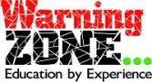 Warning zone logo