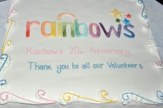 Rainbows Hospice Cake