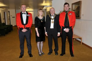 HM armed forces dinner